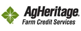 Logo image for AgHeritage Farm Credit Services.