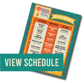 Thumbnail image of current festival schedule with 'View Schedule' button.