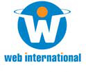 Logo image for Web International.